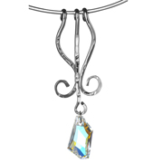 Outback Hanging Rock AB Swarovski crystal rhodium Australian made jewellery120