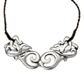 Maori Celtic Necklace Silver 120